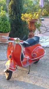 Vespa rouge 13